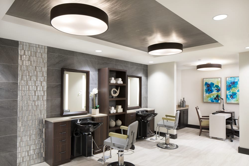 Salon at Sage Mountain
