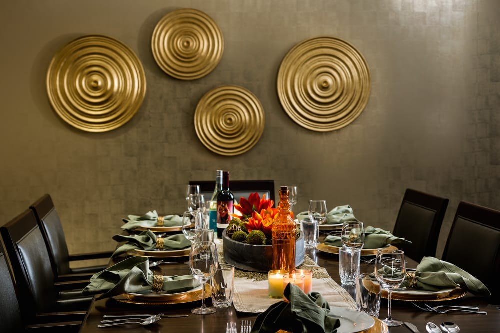 Private Dining Room at Sage Mountain