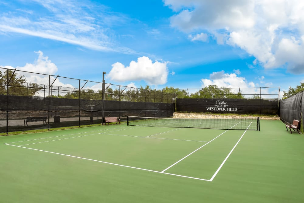 Our Apartments in San Antonio, Texas offer a Tennis Court