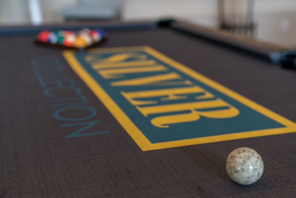 Billiards at Silver Collection at Carl D. Silver Parkway in Fredericksburg, Virginia