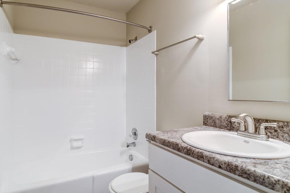 Audubon Park showcase a beautiful bathroom in Nashville, Tennessee