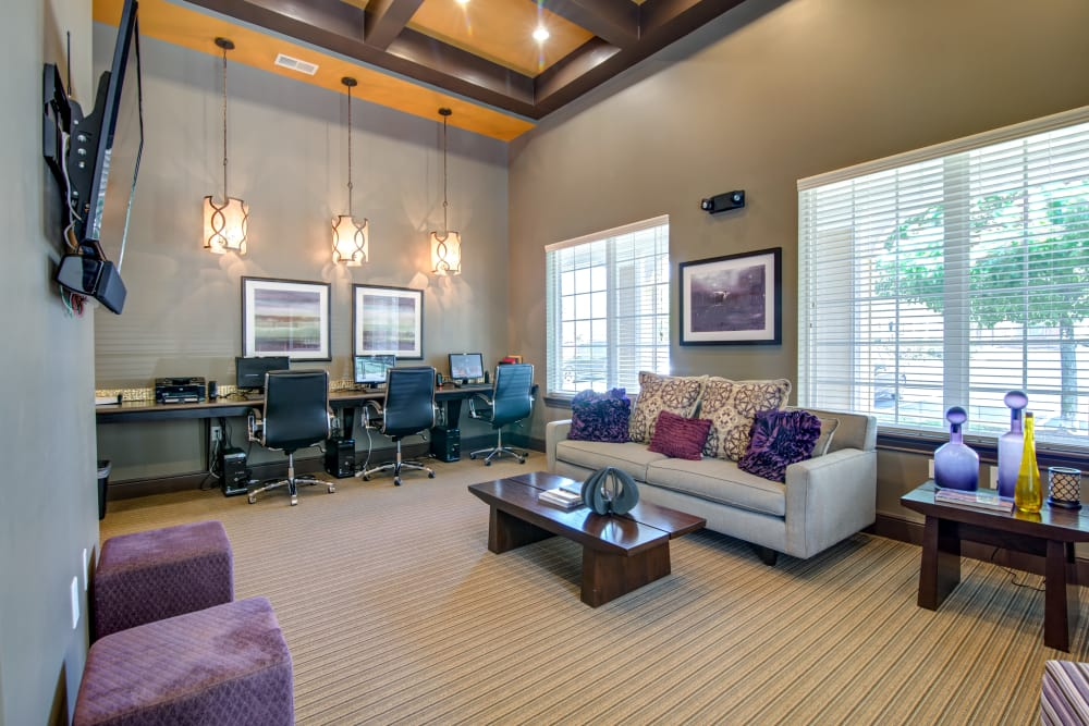 State-of-the-art clubhouse at Cantare at Indian Lake Village in Hendersonville, Tennessee
