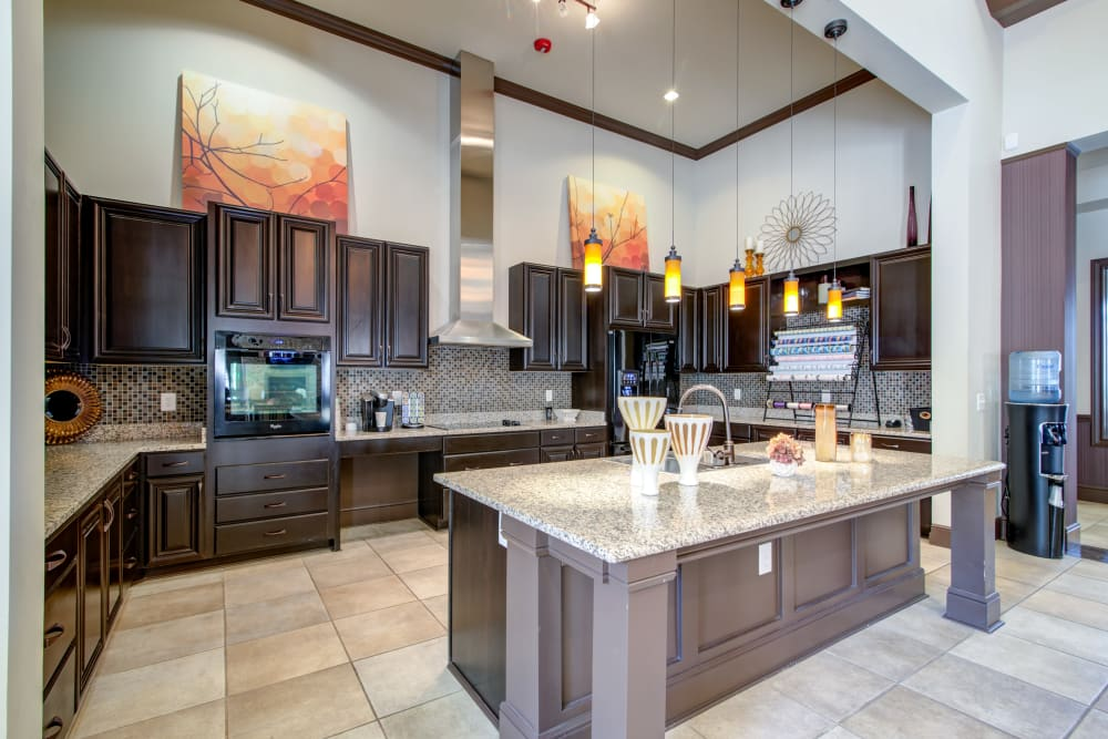 Kitchen at Cantare at Indian Lake Village in Hendersonville, Tennessee