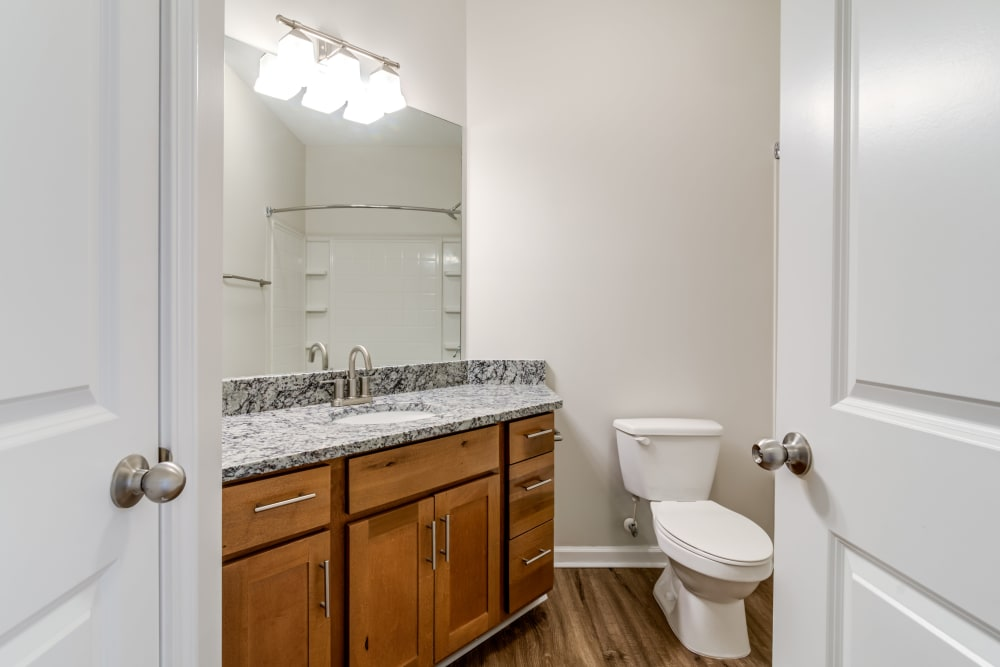Spacious bathroom at Richland Falls in Murfreesboro, Tennessee