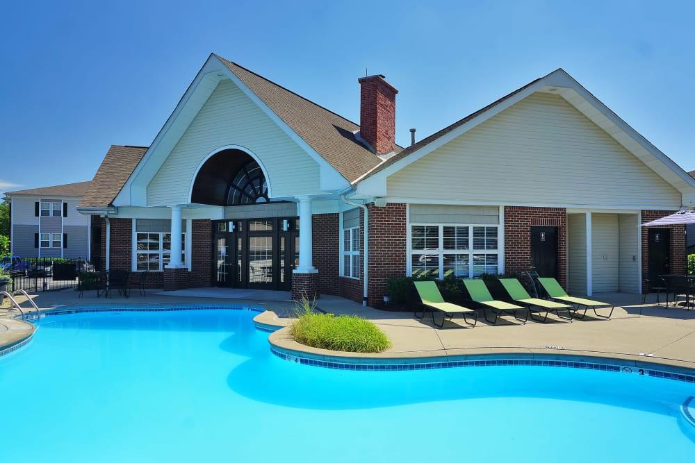 Enjoy a refreshing pool at Renaissance St. Andrews in Louisville, Kentucky