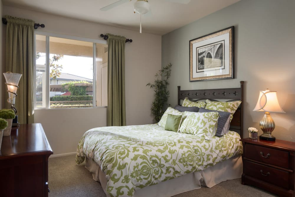 Bedroom at Alicante Apartments in Aliso Viejo