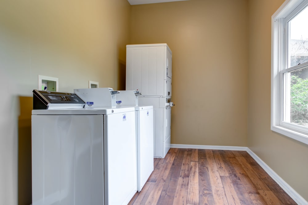 Laundry room in Louisville, Kentucky at Cooper Creek