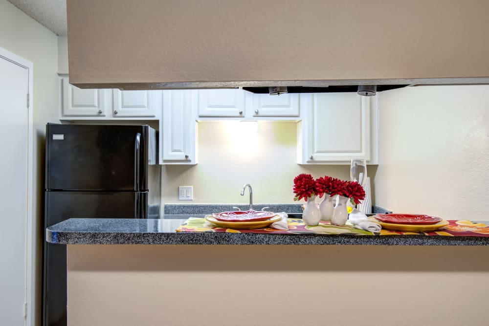 Enjoy a well-equipped kitchen at Grayson Ridge in North Richland Hills, Texas