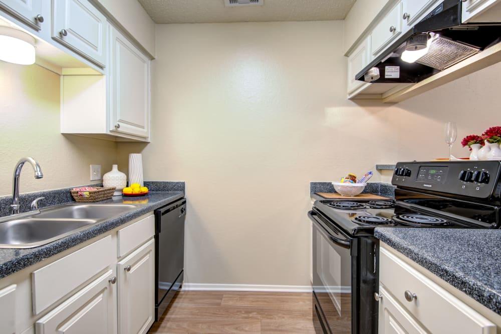 Enjoy a luxury kitchen at Grayson Ridge in North Richland Hills, Texas
