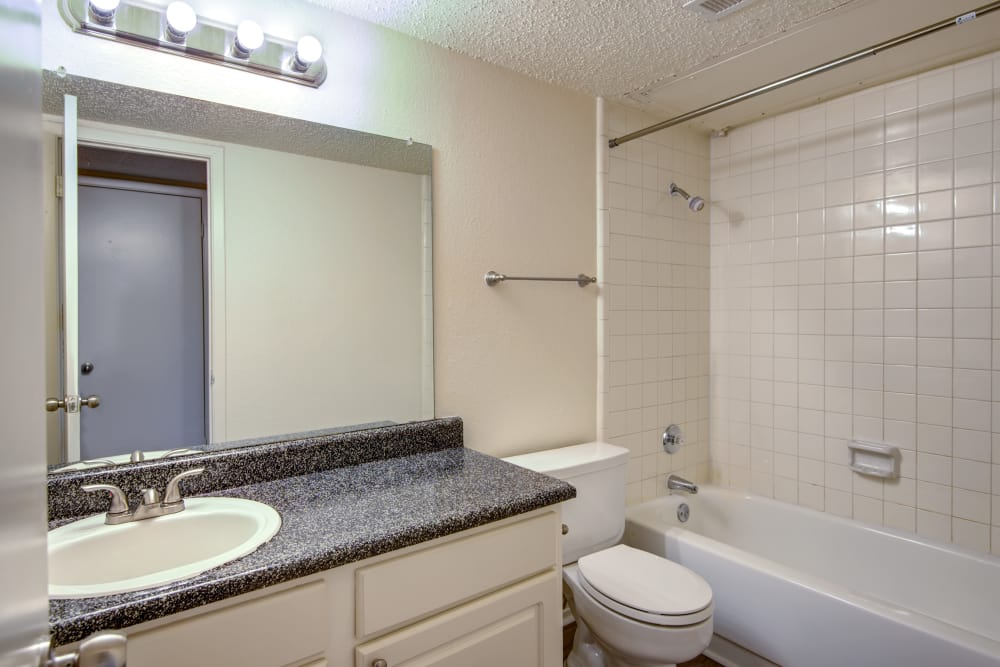 Beautiful bathroom at Grayson Ridge in North Richland Hills, Texas