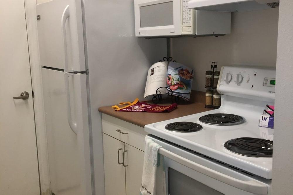 Kitchen at The Flatts Salisbury in Salisbury, Maryland