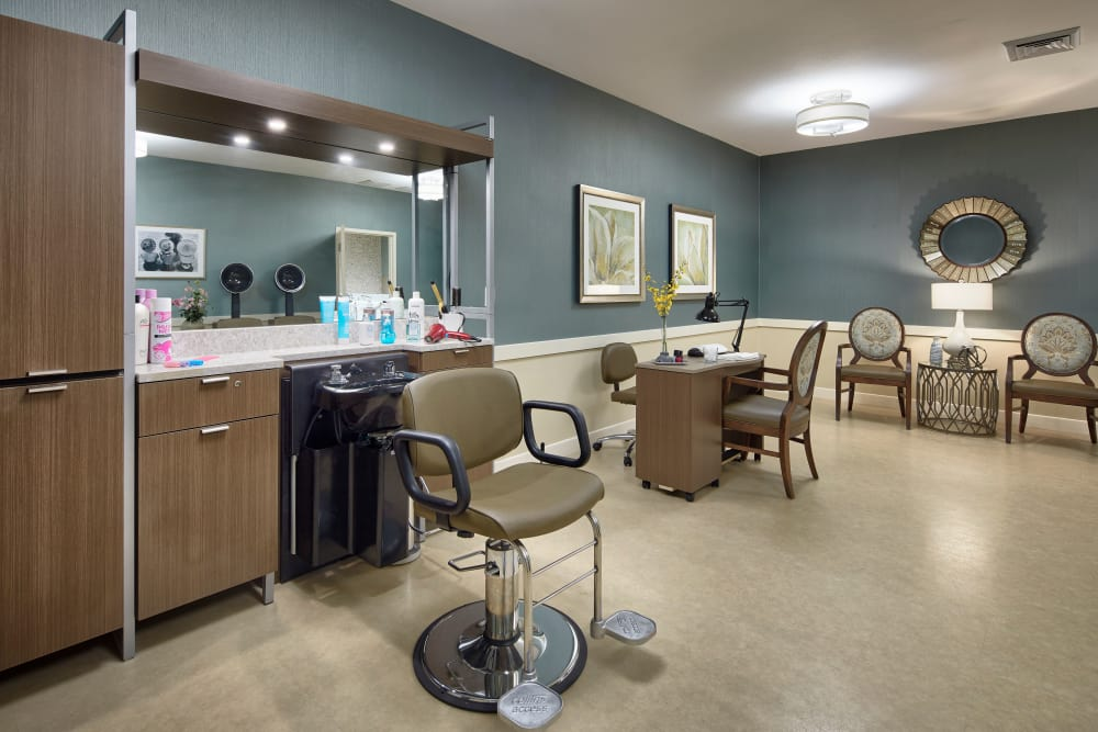 Salon at Sienna at Otay Ranch
