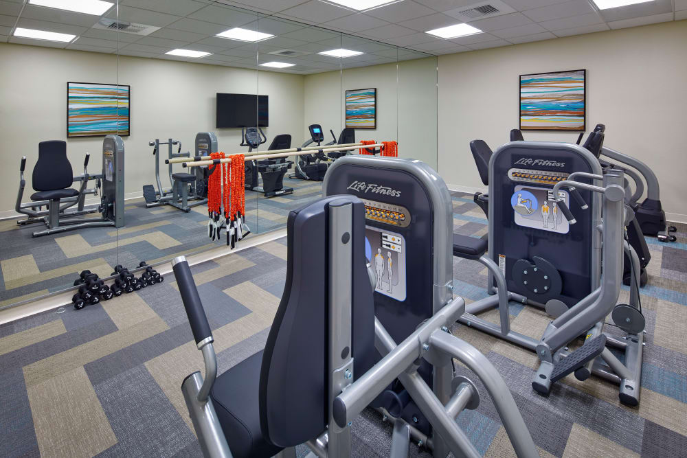 Gym at Sienna at Otay Ranch