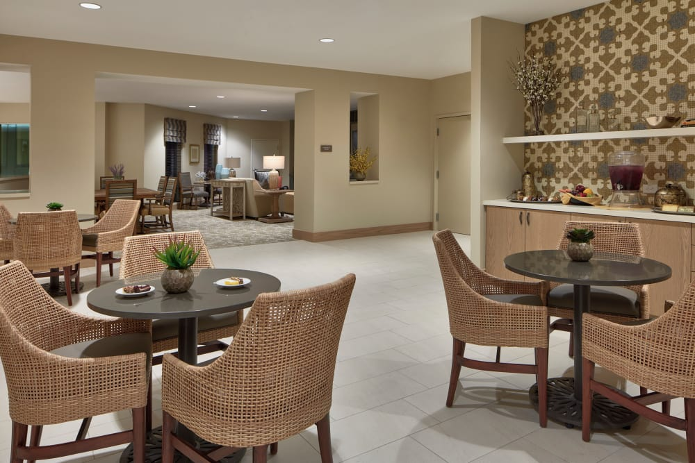 Bistro at Sienna at Otay Ranch senior living