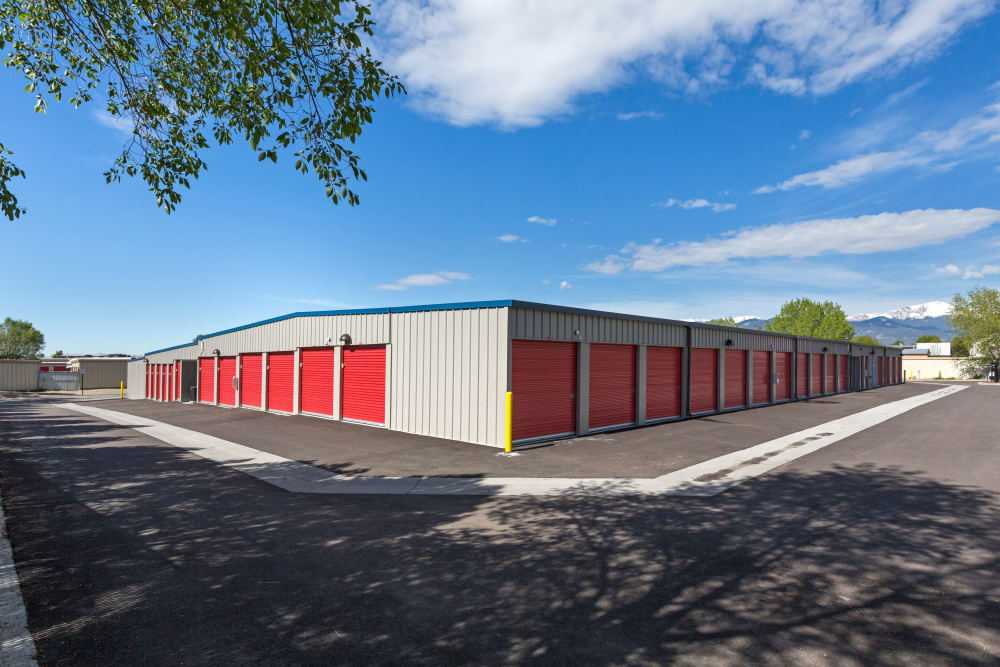 Outdoor units at Smart Space Self Storage - Colorado Springs in Colorado Springs, Colorado