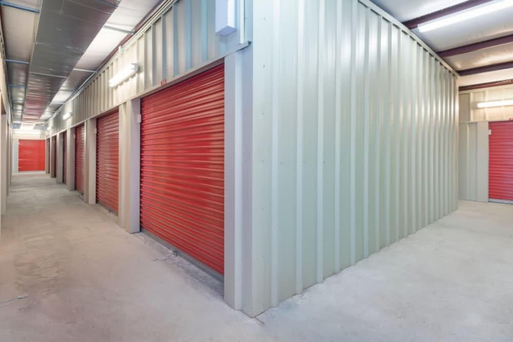 Interior units at Smart Space Self Storage - Colorado Springs in Colorado Springs, Colorado