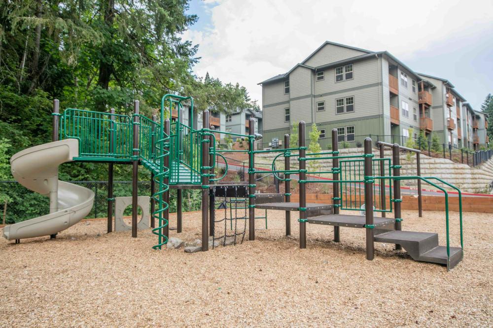 Playground at River Ridge Apartments in Tualatin, Oregon