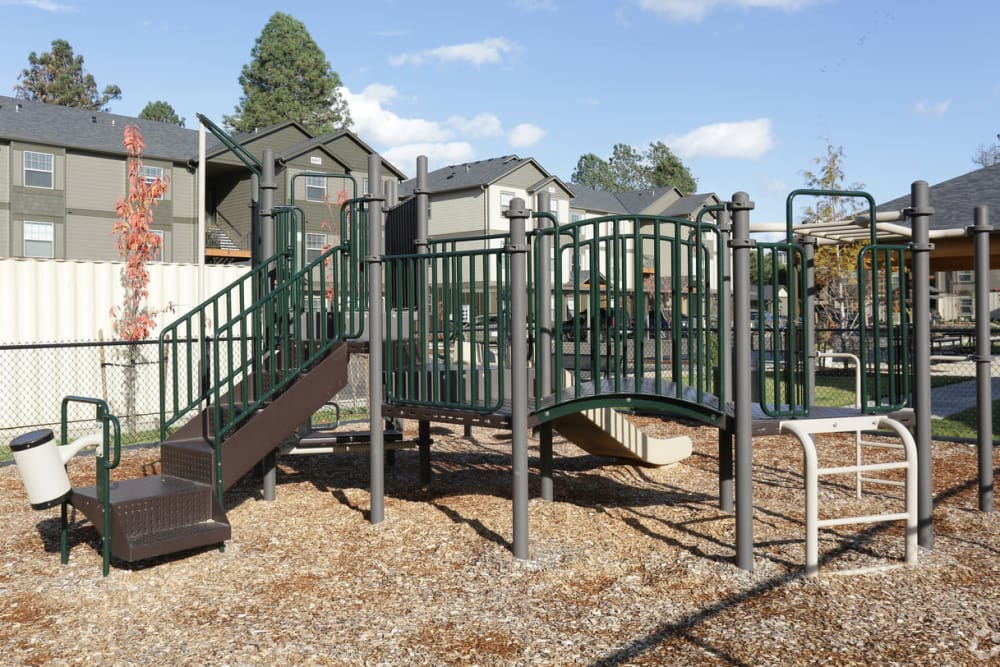 Play structure at The Fairway Apartments in Salem, Oregon