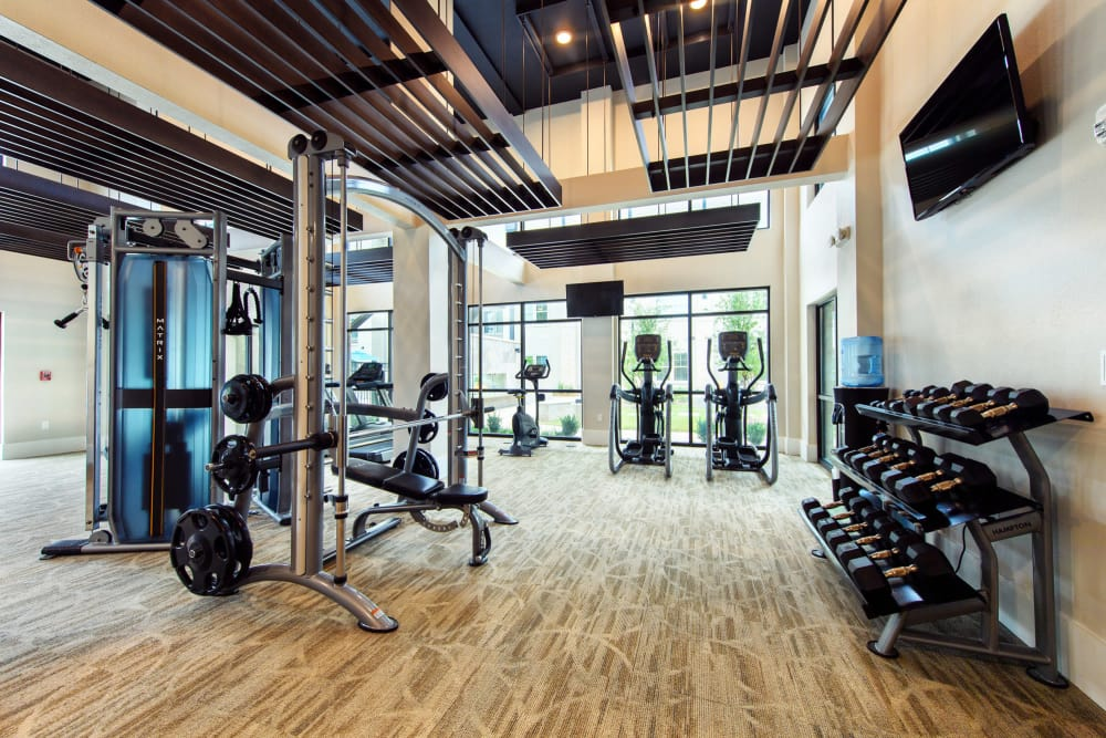 Fitness Center at Park Rowe Village at Perkins Rowe in Baton Rouge, Louisiana