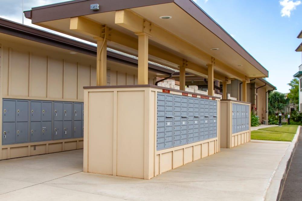 Mailboxes at Kapolei Lofts in Kapolei, HI