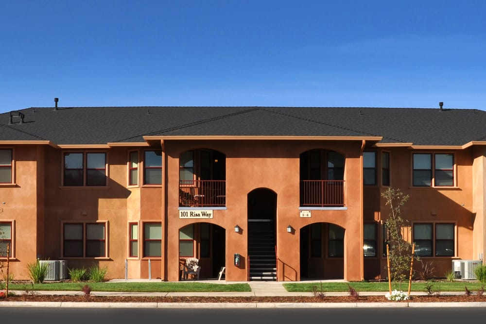 Exterior at Villa Risa Apartments in Chico, California