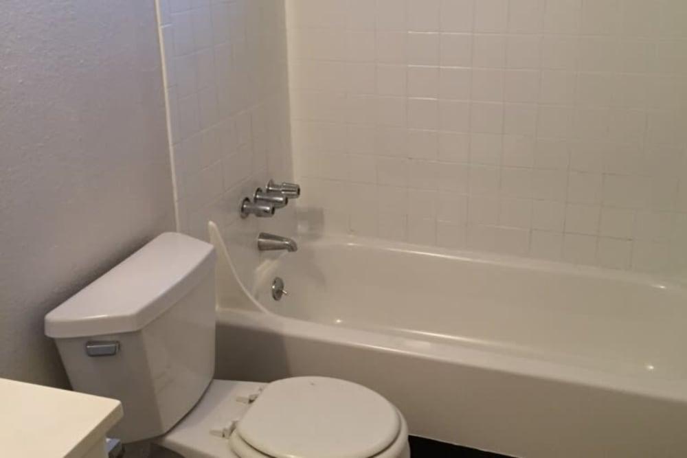 Bathroom at The Trees in Denver, Colorado