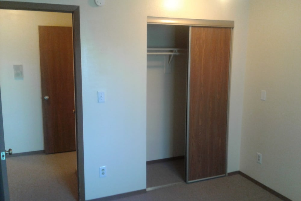 Spacious closets at Aspen Meadows in Aurora, Colorado
