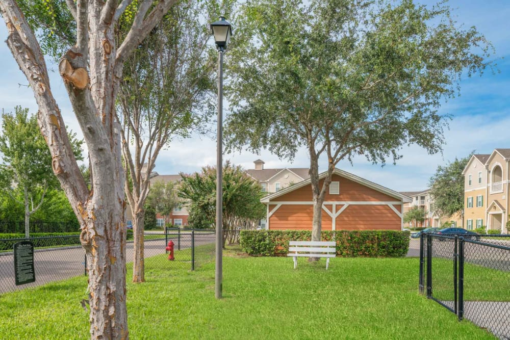 Our Apartments in West Melbourne, Florida offer a Dog Park