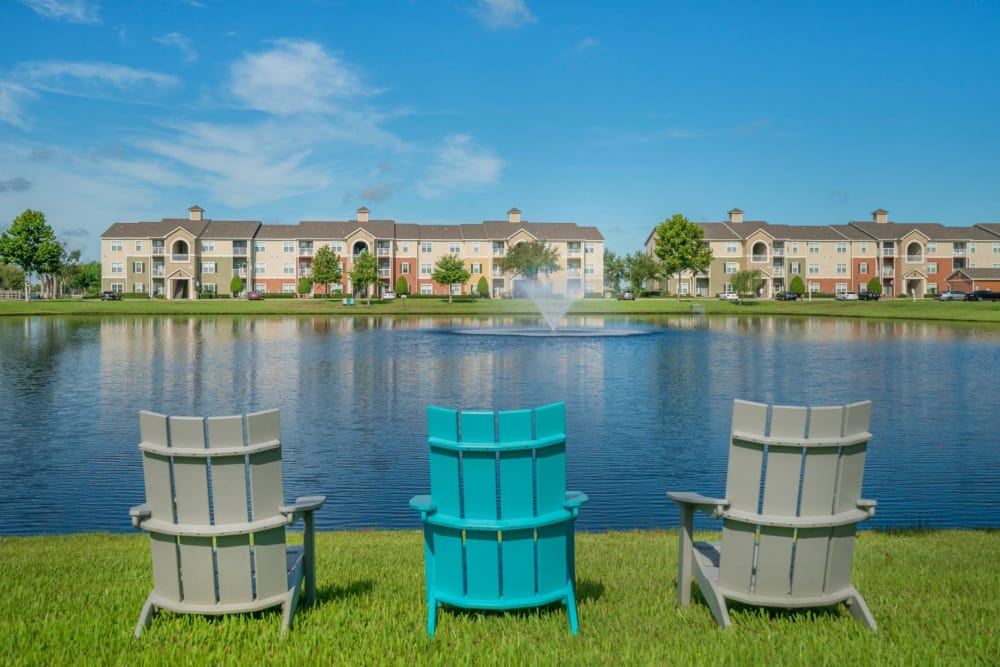 Beautiful Lake at The Haven at West Melbourne | Apartments in West Melbourne, Florida