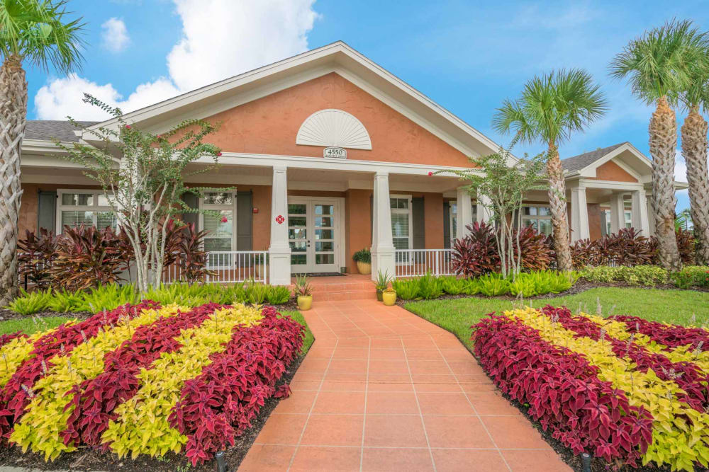 Entryway at The Haven at West Melbourne in West Melbourne, Florida