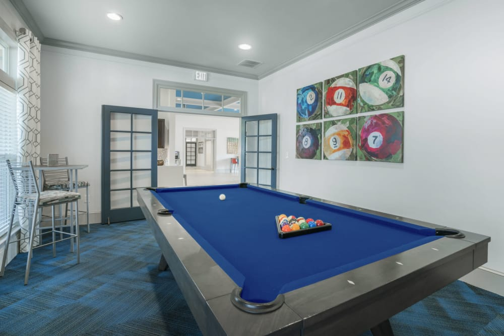 Enjoy Apartments with a Pool Table at The Haven at West Melbourne