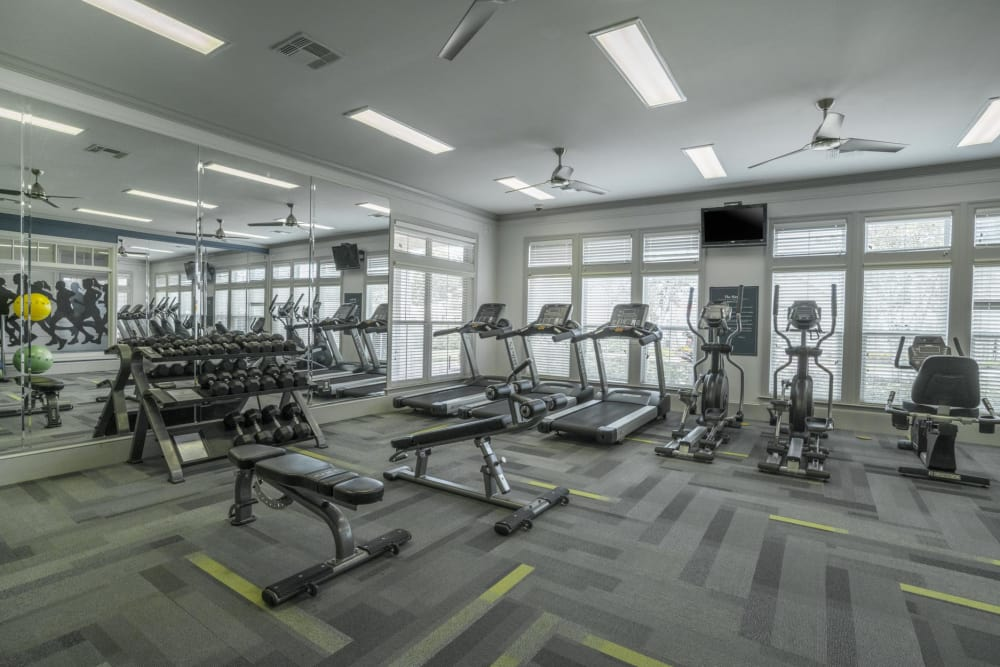 Our Apartments in West Melbourne, Florida offer a Gym