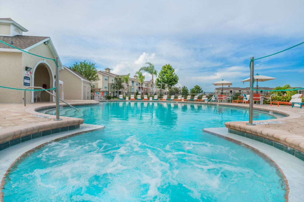 Swimming Pool at The Haven at West Melbourne in West Melbourne, Florida