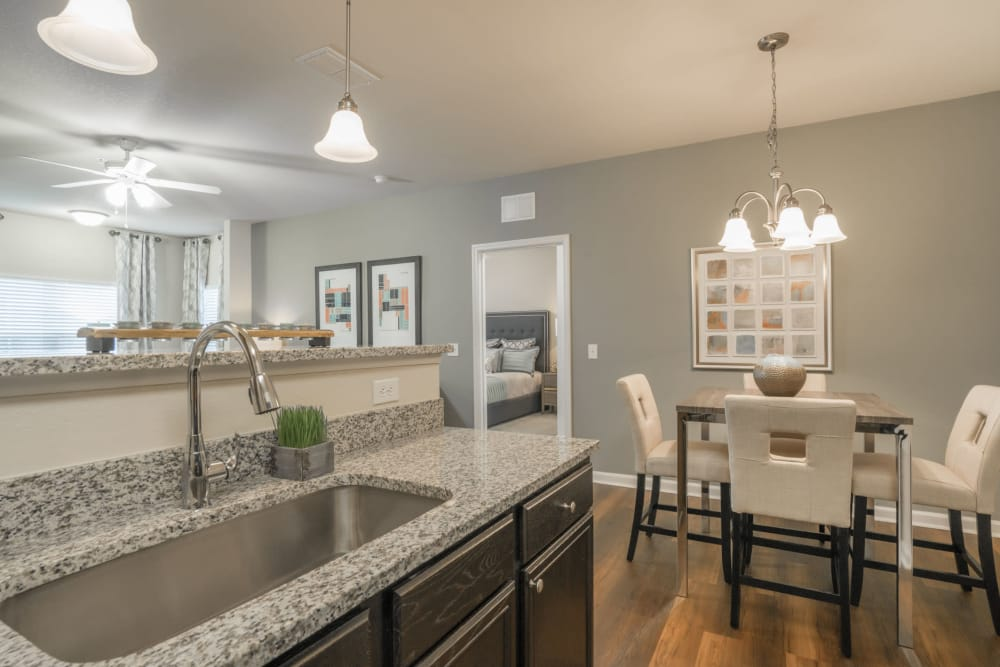Dining Area & Kitchen at The Haven at West Melbourne in West Melbourne, Florida