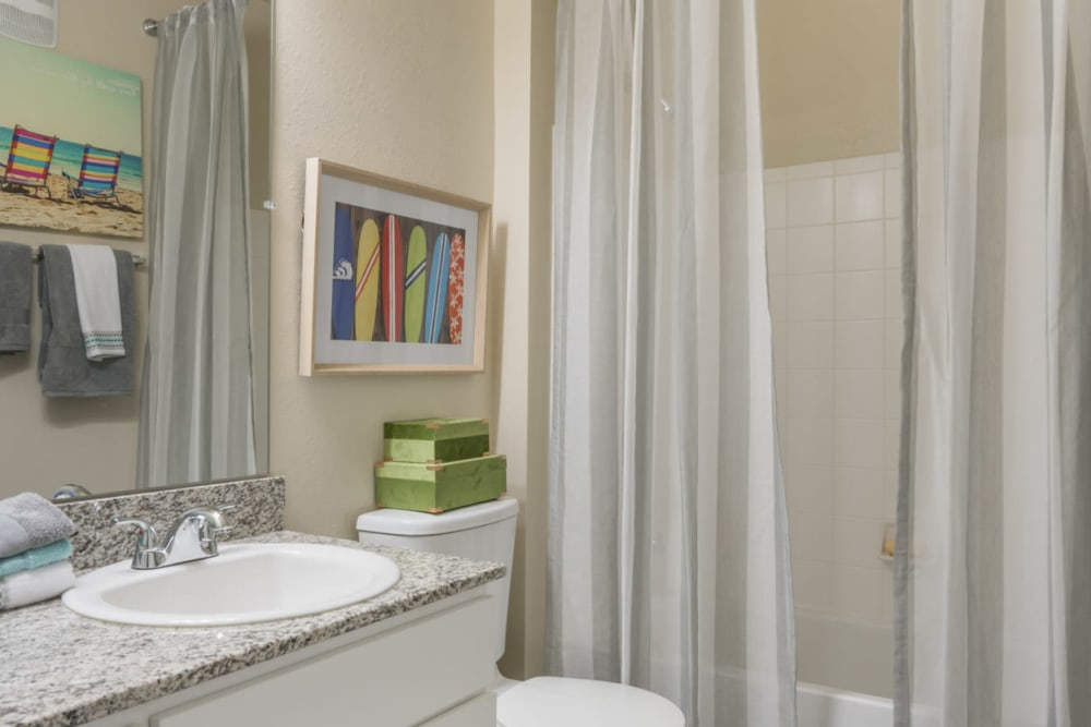 Bathroom at The Haven at West Melbourne in West Melbourne, Florida