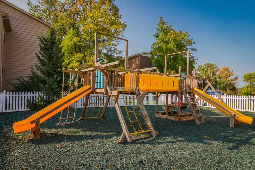 Playground at Creek Club Apartments in Williamston, Michigan