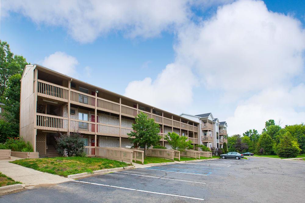 Apartments for rent at Creek Club Apartments in Williamston, Michigan