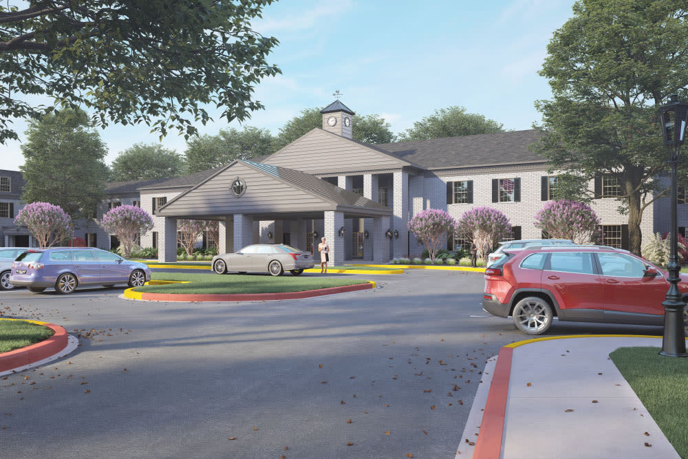 Renovations are coming soon to Emerson on Harvest Hill in Dallas, Texas.