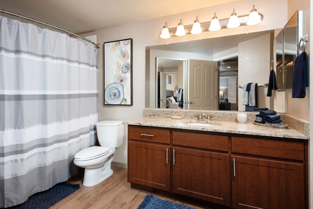 Bathroom at San Antigua in McCormick Ranch in Scottsdale, Arizona