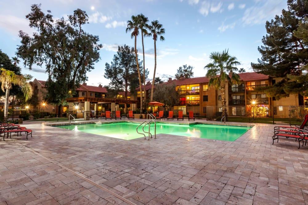 Swimming Pool at Renaissance Apartment Homes in Phoenix, Arizona