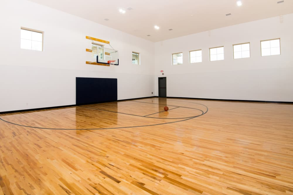Our Apartments in Richardson, TX have an Indoor Basketball Court