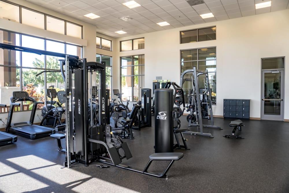 Fitness center at Kapolei Lofts in Kapolei, HI
