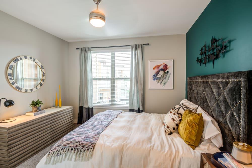 Spacious bedroom at Flats At 540 in Apex, North Carolina