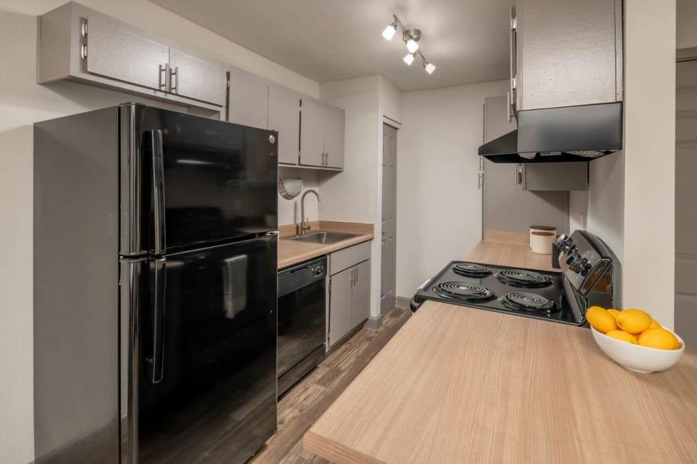 Our beautiful apartments in Tucson, Arizona showcase a kitchen