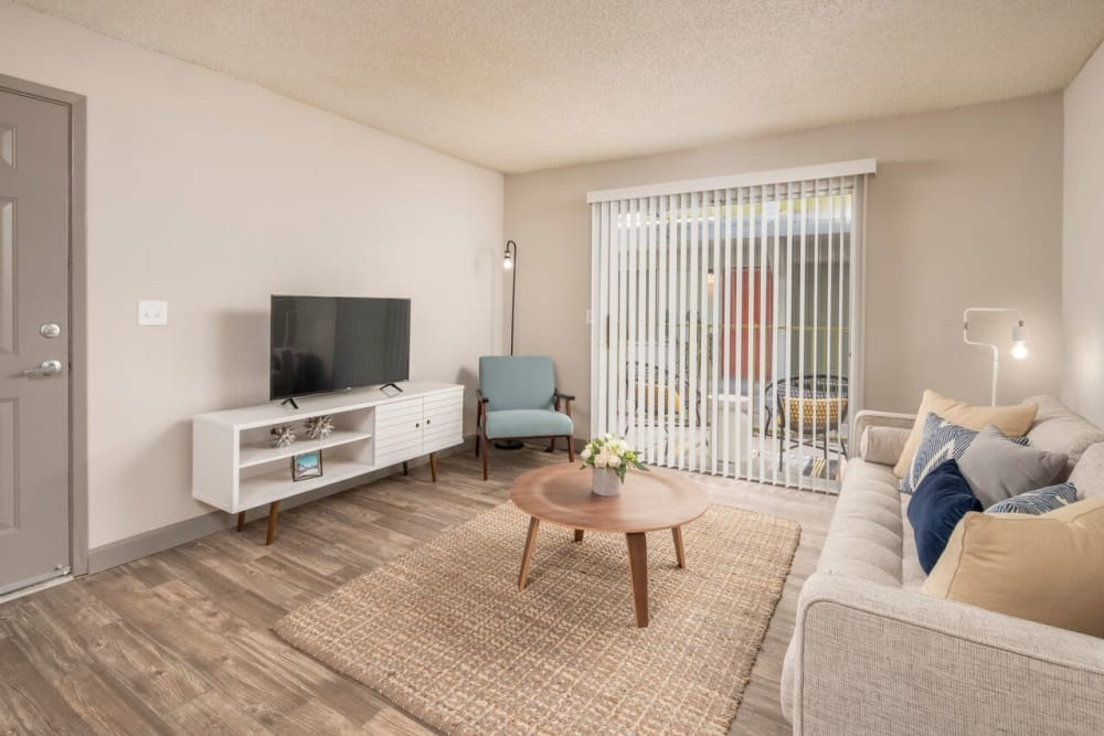 Our beautiful apartments in Tucson, Arizona showcase a living room