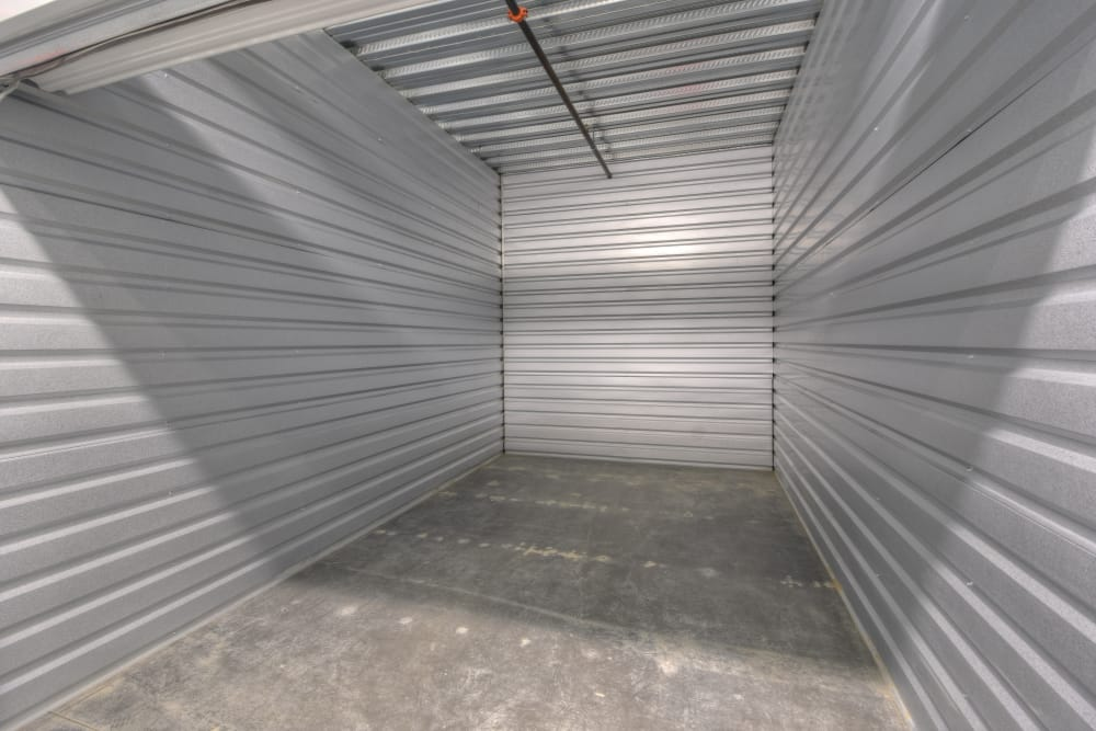 Open unit at My Self Storage Space in Fullerton, California