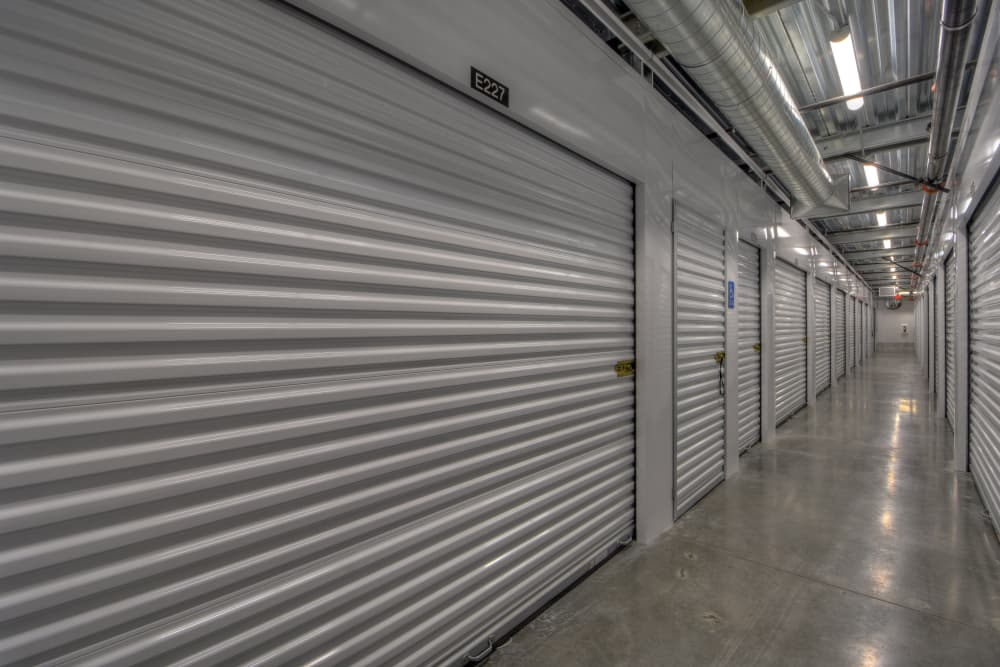 Interior units at My Self Storage Space in Fullerton, California