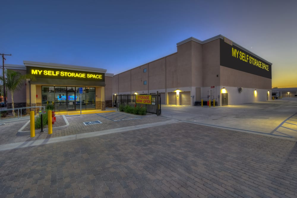 Exterior of My Self Storage Space in Fullerton, California