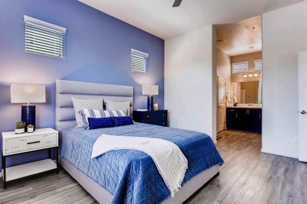 Spacious master bedroom at Avilla Meadows in Surprise, Arizona