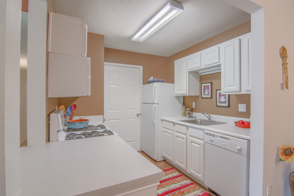 Modern apartments with energy-efficient appliances in Biloxi, Mississippi